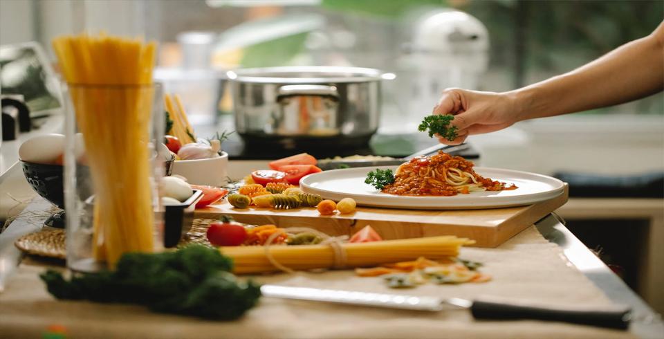 Recetas facilesspaguetti con tomate